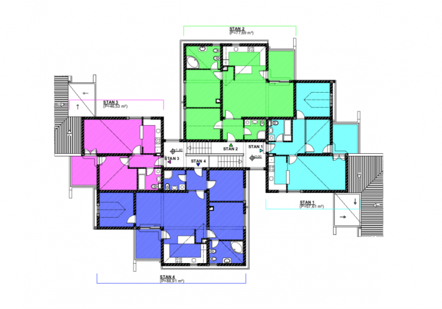 prodaja, stan, trosoban, novogradnja, Trebinje centar